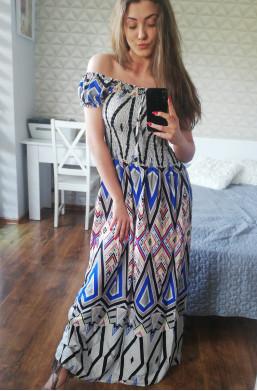 Sukienka hiszpanka CONOS maxi