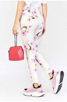 Spodnie w kwiaty new collection, najniższe ceny