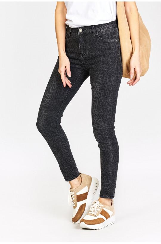 Spodnie Premium w panterkę new collection