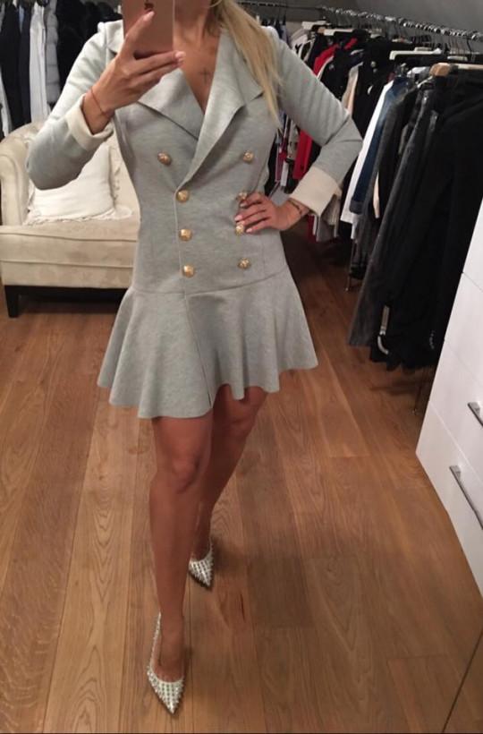 sukienka z guzikami,krótka sukienka,elegancka sukienka