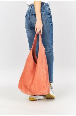 Torebka worek ze skóry naturalnej, made in Italy new collection