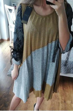 sukienka plisowana new collection made in Italy, najniższe  ceny,krótka sukienka,modna sukienka