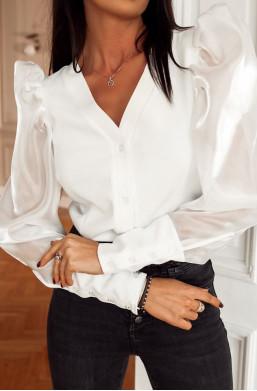 Koszula prestige O La Voga czarny, biały prestige,koszula do pracy,koszula na kolację,koszula na wyjście