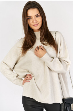 Sweter półgolf e - woman new collection made in Italy,sweter z golfem,luźny sweter