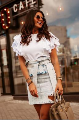 Spódniczka new look O La Voga ,krótka spódniczka,modna spódniczka,spódniczka na różne okazje