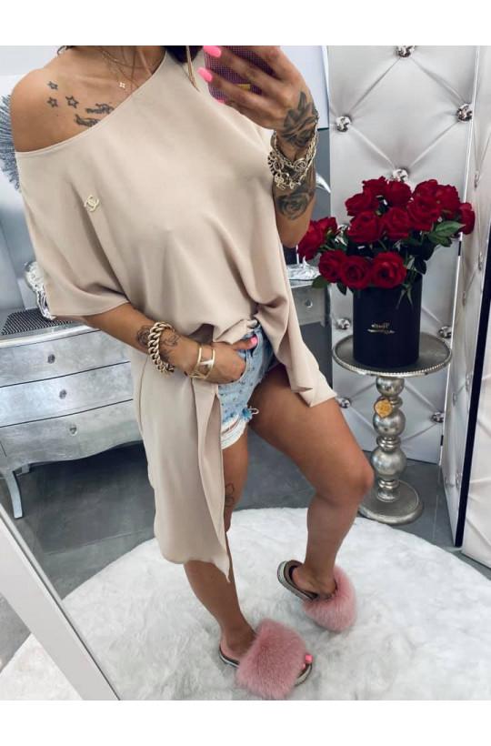 Bluzka chanelka Lola Bianka,długa tunika,tunika,modna tunika,ciechanów,warszawa