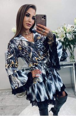 """Sukienka """"złota bransoleta""""..."""