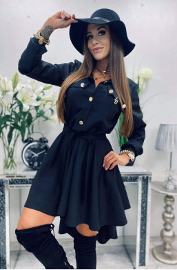 Sukienka militarna czarna...