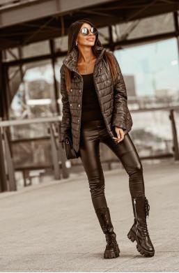 KURTKA LIMA czarna O la Voga,modna kurtka,ciepła kurtka,kurtka na jesień,kurtka na zimę,gruba kurtka,najlepsze ceny