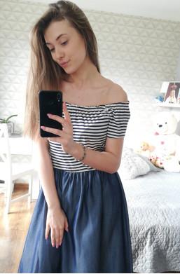 Sukienka JEANS  Made in Italy ,sukienka na wyjście,sukienka na kolacje,modna sukienka