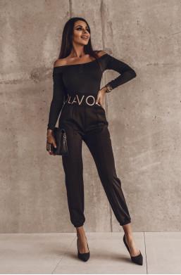 spodnie z ściągaczem,spodnie z wysokim stanem,eleganckie spodnie,modne spodnie,długie spodnie,hit 2021