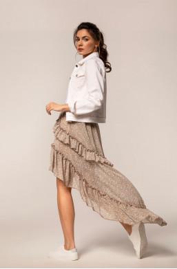 kurtka jeansowa,biała kurtka,kurtka bopoco,krótka kurtka,kurtka wiosenna,hit mody