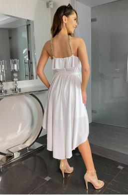 modna sukienka,sukienka na wiele okoliczności,innowacyjna sukienka,asymetryczna sukienka