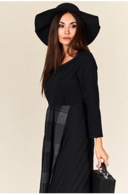 Sukienka maxi  Made in Italy new collection warszawa,długa sukienka,sukienka z długim rękawem,czarna sukienka