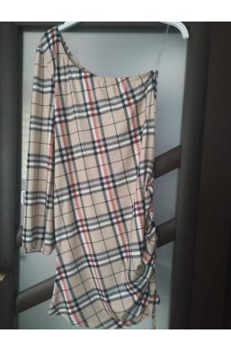 sukienka na codzień,sukienka w kratę,sukienka z wzorem,elegancka sukienka,krótka sukienka,luźna sukienka,warszawa