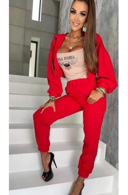 Komplet dres czerwony Lola...